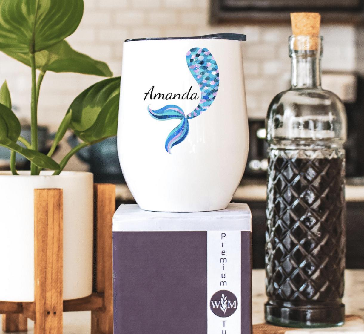 mermaid-gifts-wine-tumbler