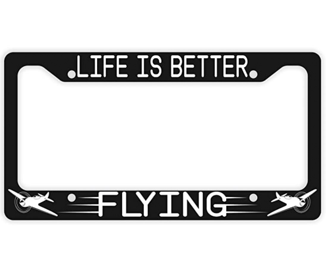 gifts-for-pilots-plate-frame