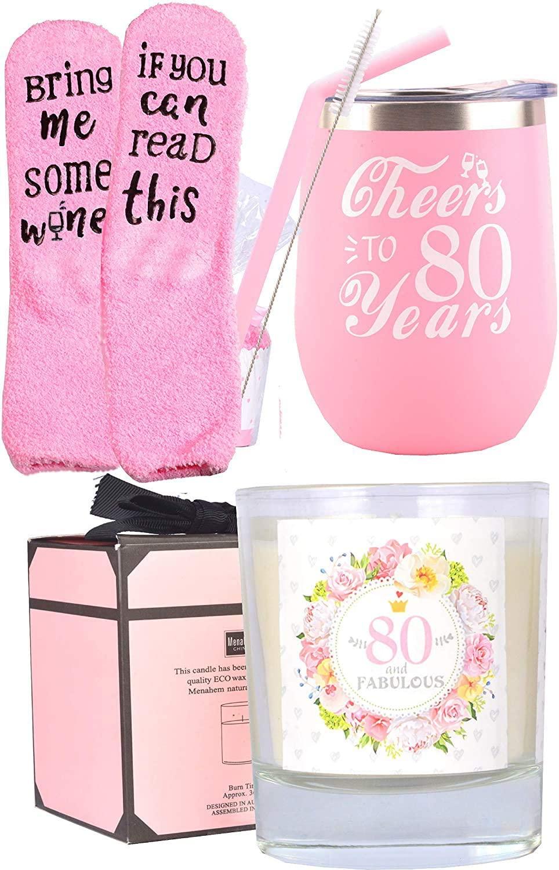80th-birthday-gifts-gift-basket