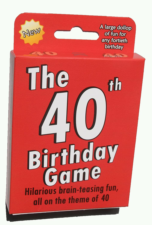 40th-birthday-gift-ideas-game