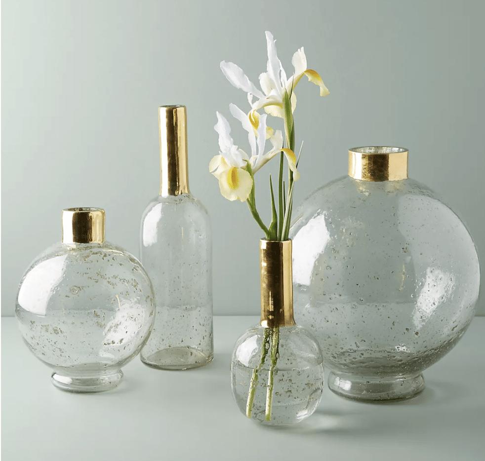 bridal-shower-gifts-gilded-vase