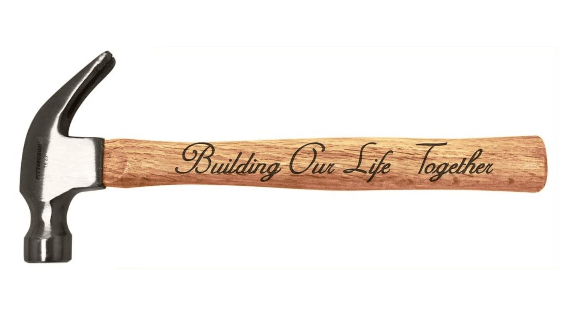 bridal-shower-gifts-engraved-hammer