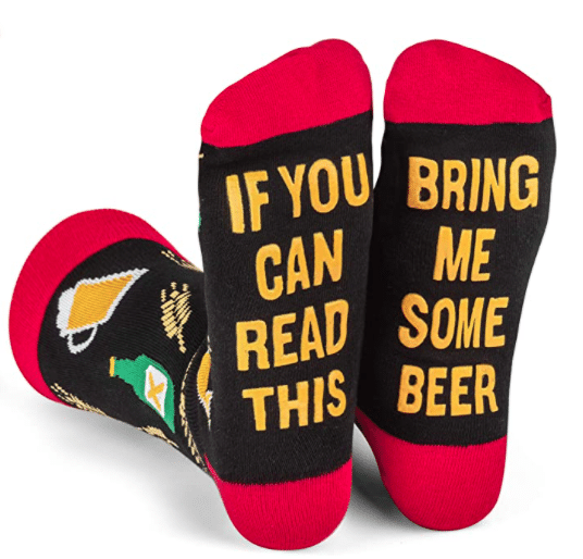 gifts-for-beer-enthusiasts-novelty-beer-socks