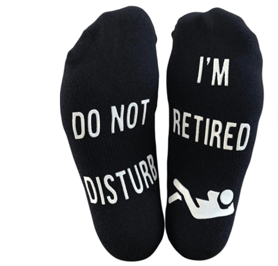 funny-retirement-gifts-do-not-disturb-socks
