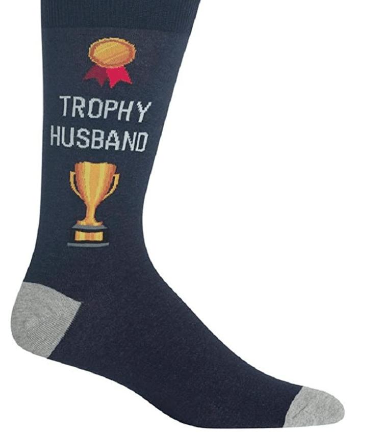 funny-gifts-for-men-trophy-husband-socks