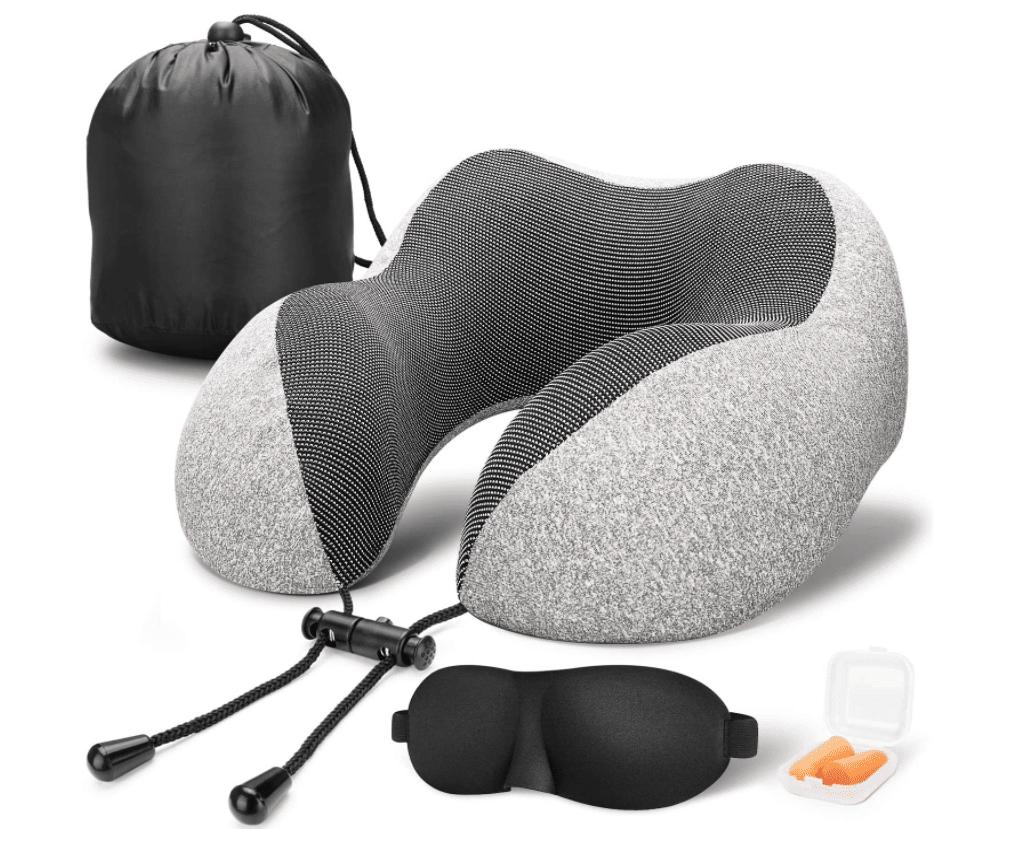 travel-gifts-for-men-memory-foam-pillow