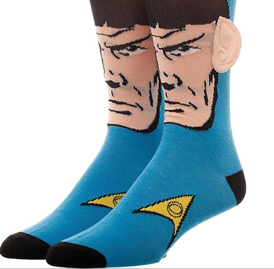 Star-trek-gifts-spock-socks