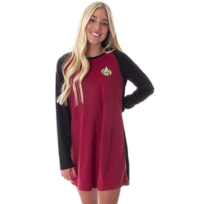 star-trek-gifts-raglan-nightgown