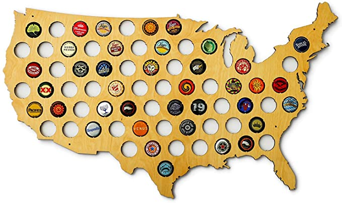gifts-for-beer-enthusiasts-beer-cap-map