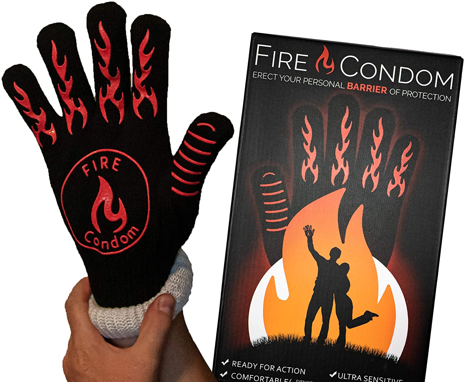 funny-gifts-for-men-fire-condom-gloves