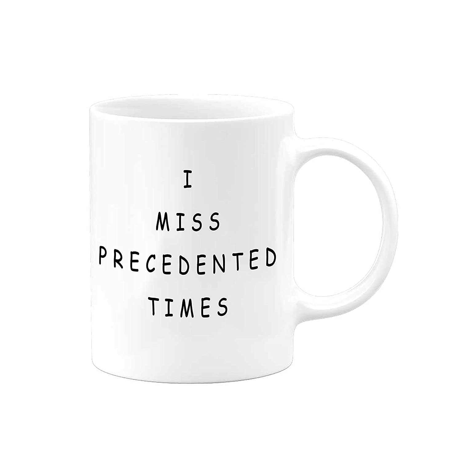 funny-gifts-for-men-precedented-times-coffee-mug