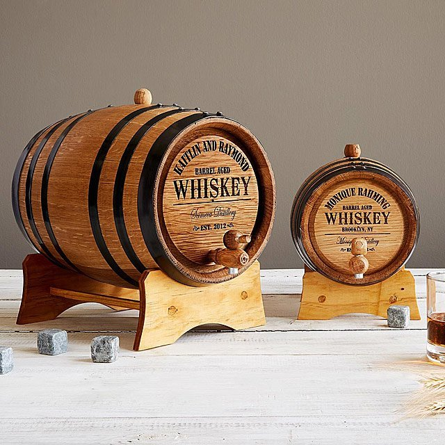 gifts-for-50th-birthday-whiskey-barrel