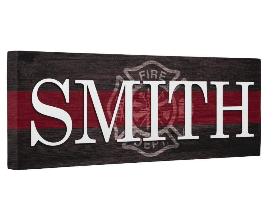 firefighter-gifts-name-plaque