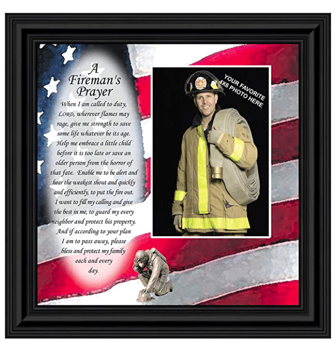 firefighter-gifts-firemans-prayer-picture-frame