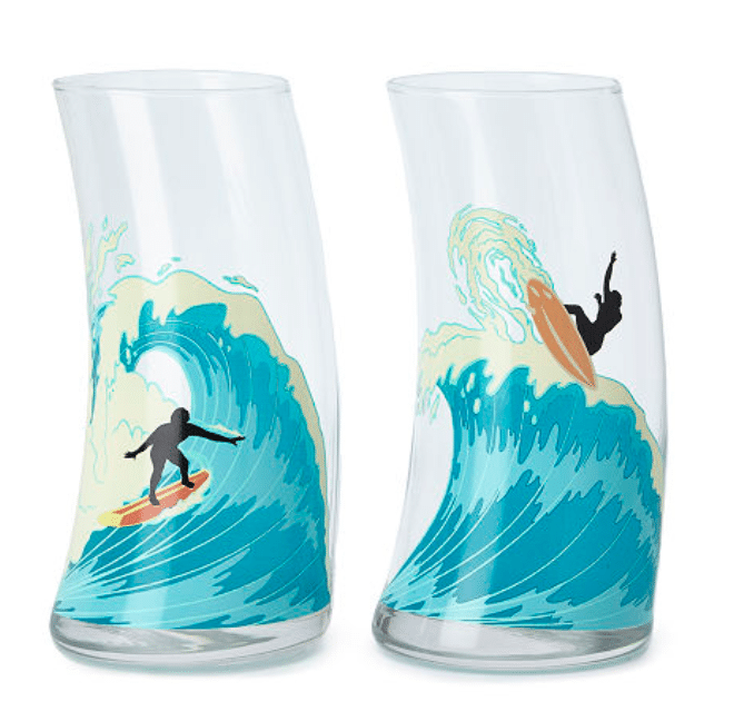 gifts-for-surfers-catch-a-wave-glass-set
