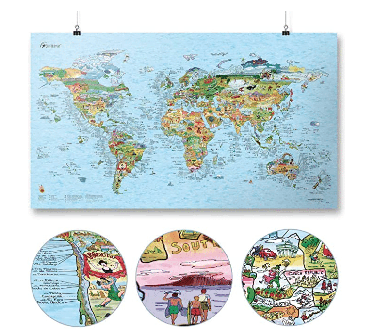 gifts-for-surfers-world-map