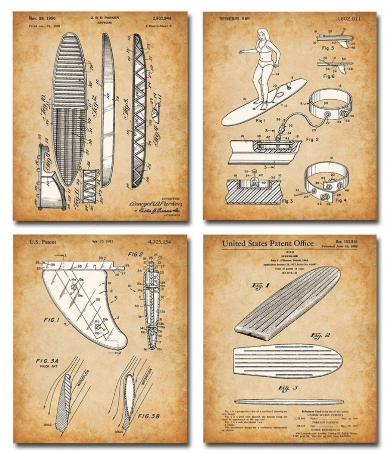 gifts-for-surfers-patent-print