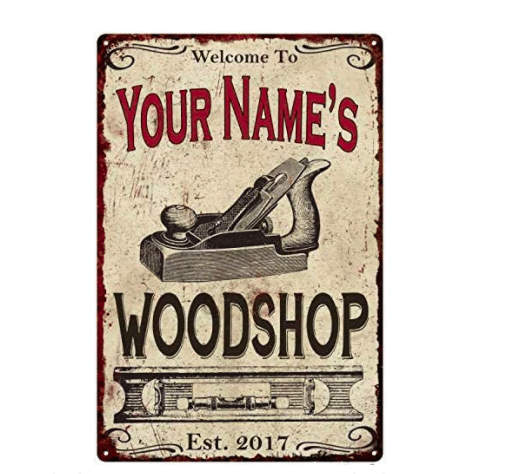 gifts-for-woodworkers-personalized-woodshop-sign