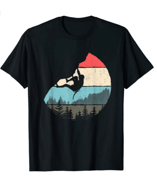gifts-for-rock-climbers-retro-bouldering-t-shirt