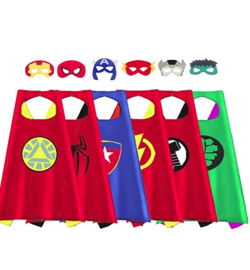 gifts-for-four-year-old-boys-superhero-costume