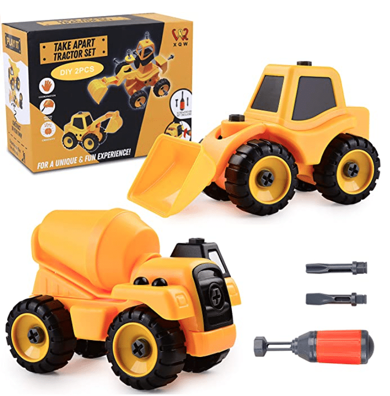 gifts-for-four-year-old-boys-take-apart-construction-trucks