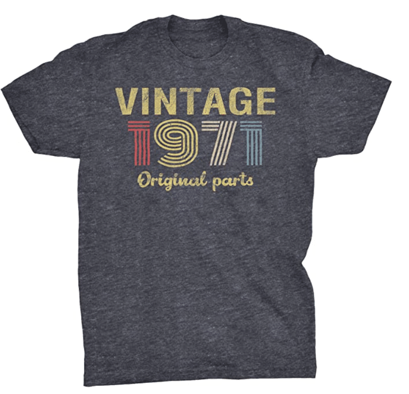 gifts-for-50th-birthday-vintage-1971-shirt