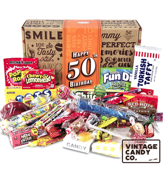 gifts-for-50th-birthday-retro-candy