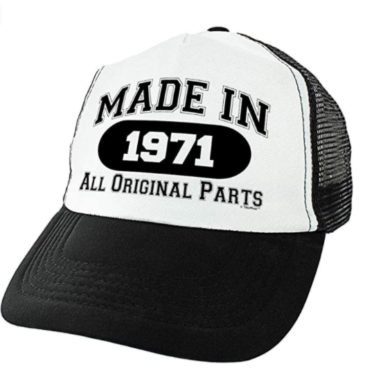gifts-for-50th-birthday-made-in-1971-hat