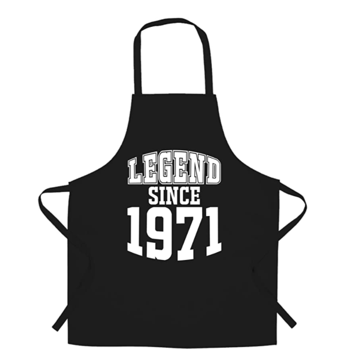 gifts-for-50th-birthday-legend-apron
