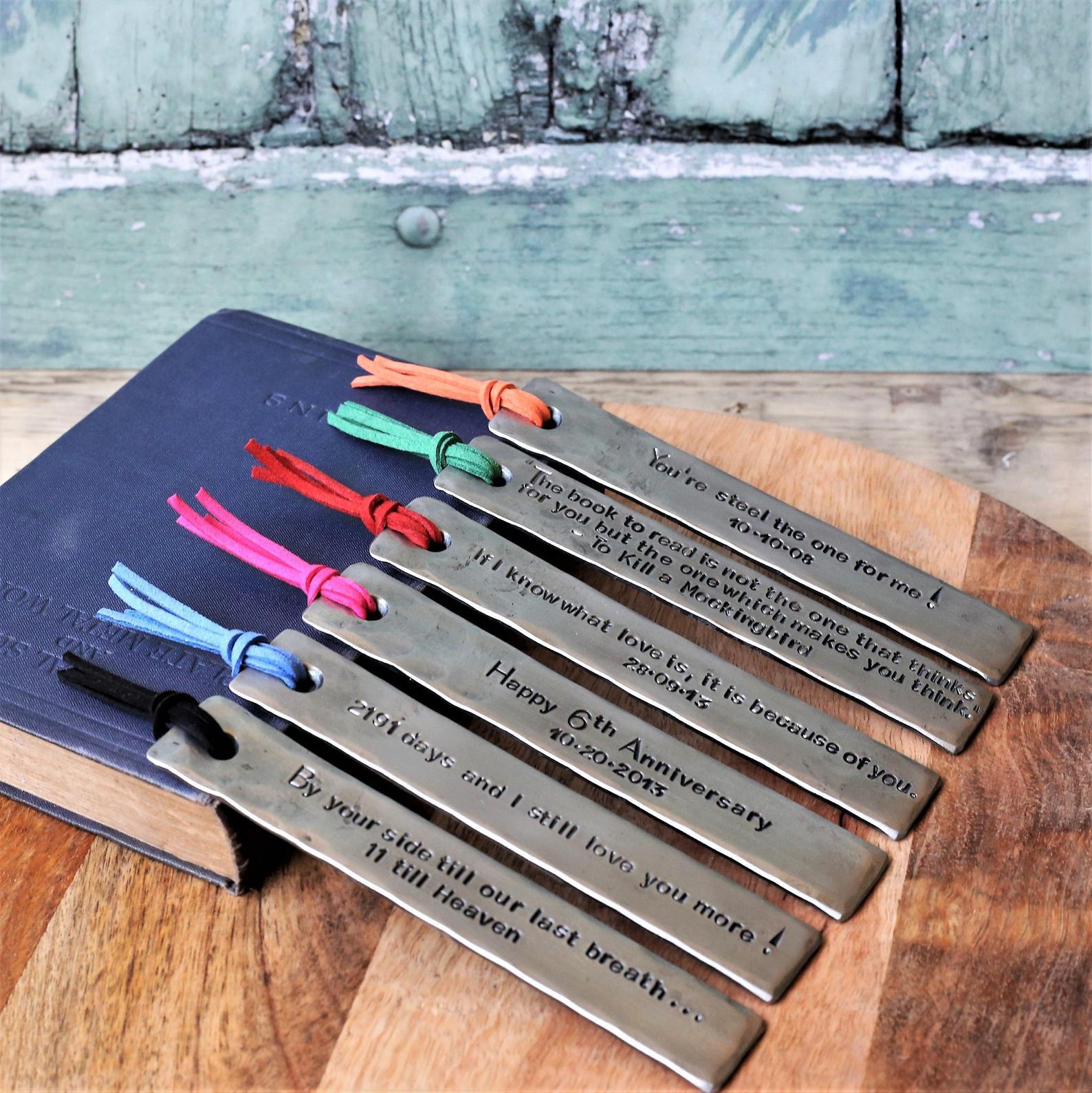 6-year-anniversary-gift-bookmark