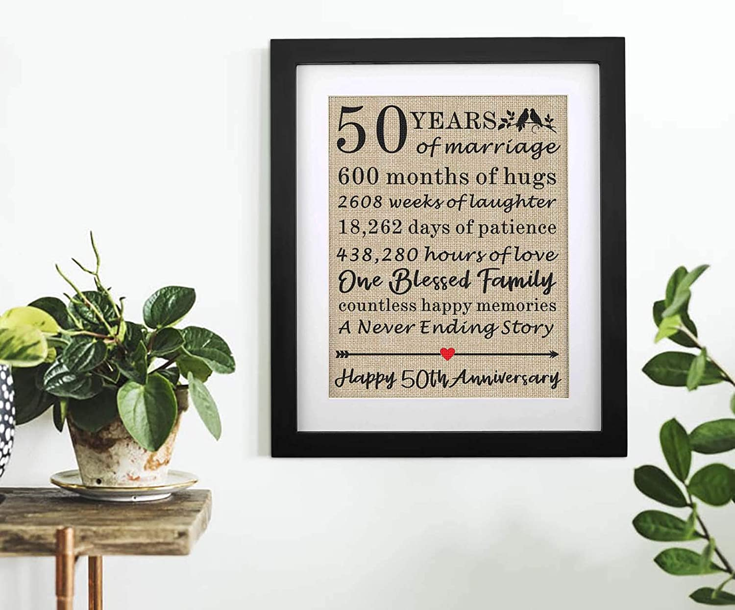 anniversary-gifts-for-parents-golden-anniversary-wall-art