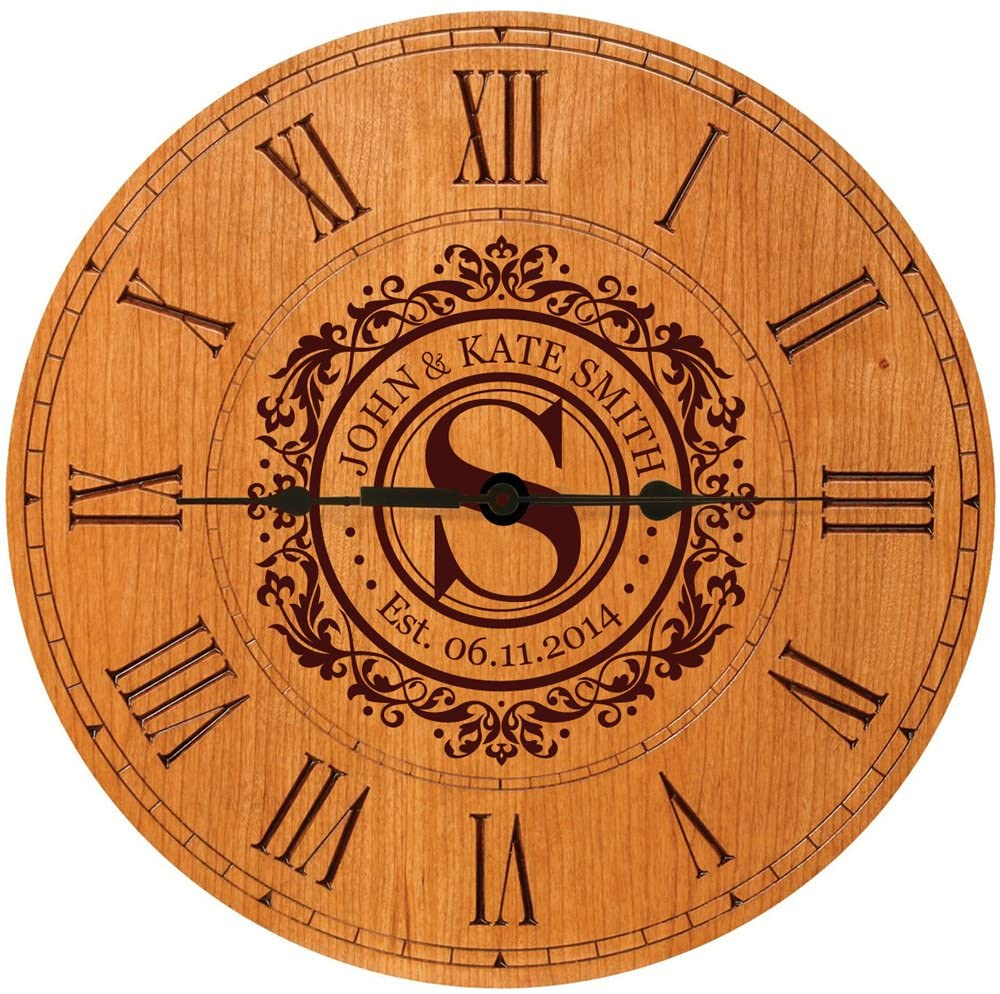 anniversary-gifts-for-parents-personalized-clock