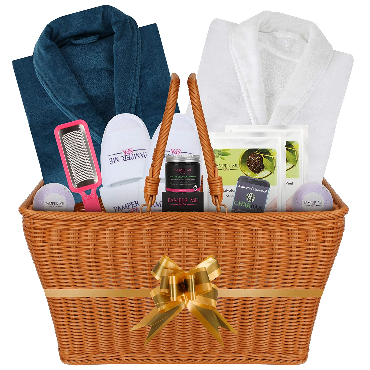 anniversary-gifts-for-parents-spa-gift-basket