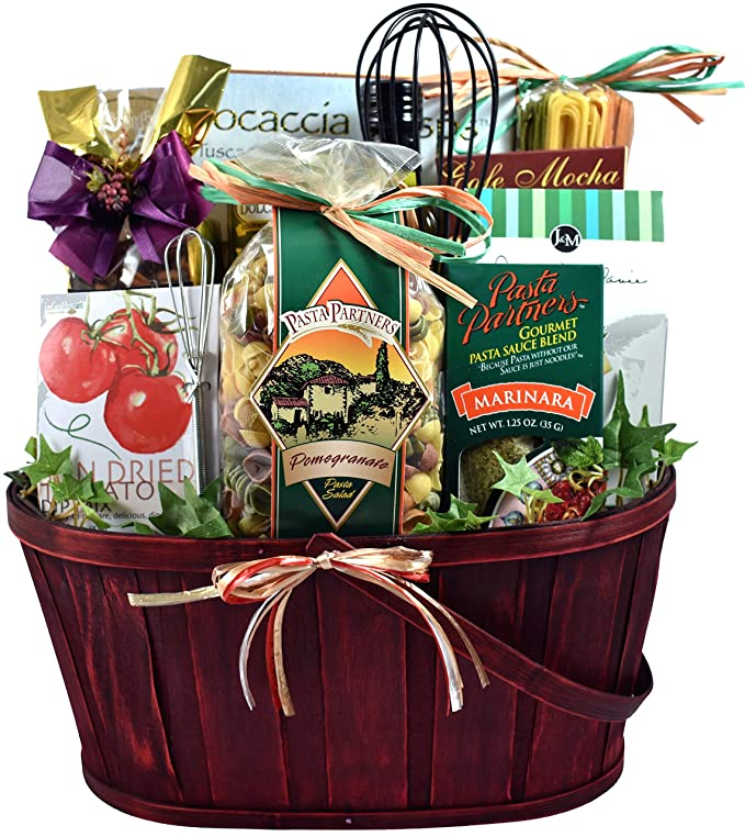 anniversary-gifts-for-parents-italian-dinner-gift-basket