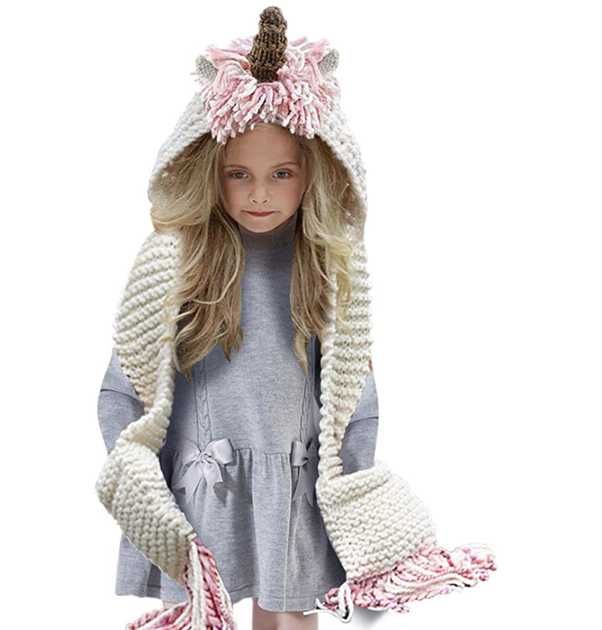 unicorn-gifts-for-girls-beanie-scarf