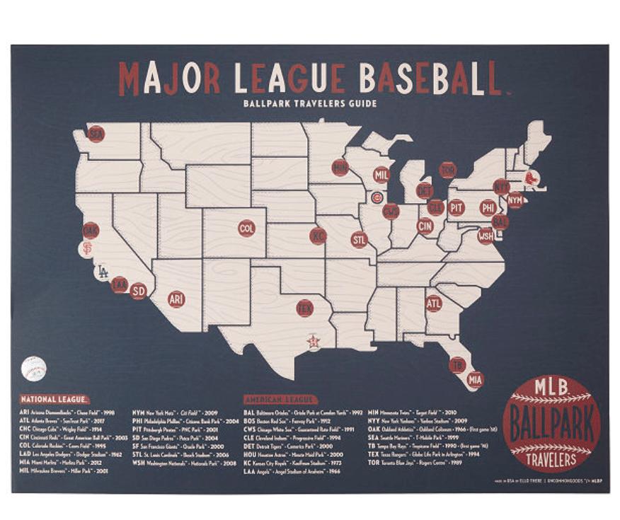 baseball-gifts-ballpark-traveler-map