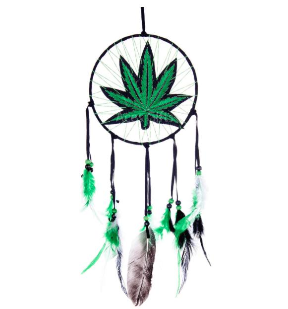 gifts-for-stoners-marijuana-dream-catcher