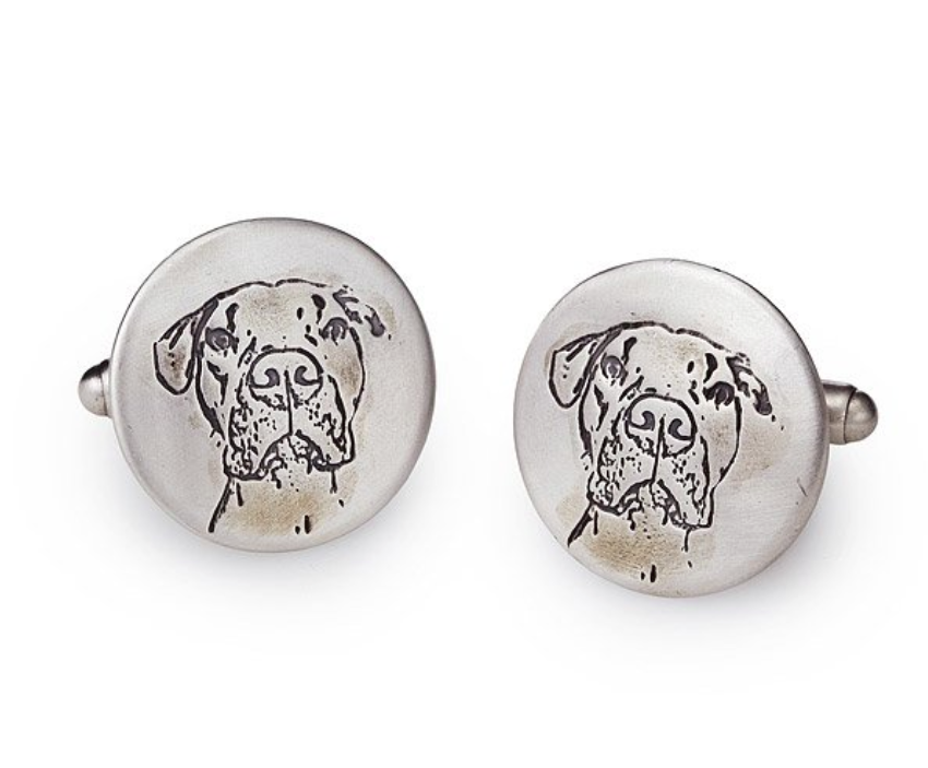manly-gifts-pet-portrait-cufflinks