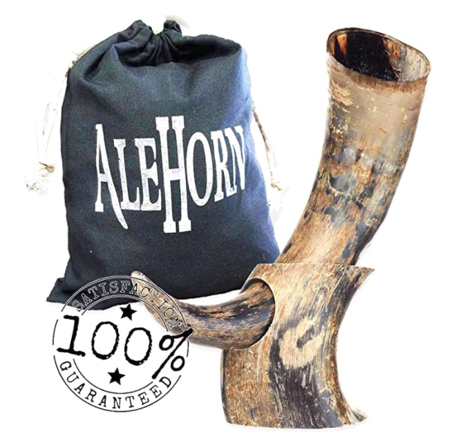 manly-gifts-ale-horn