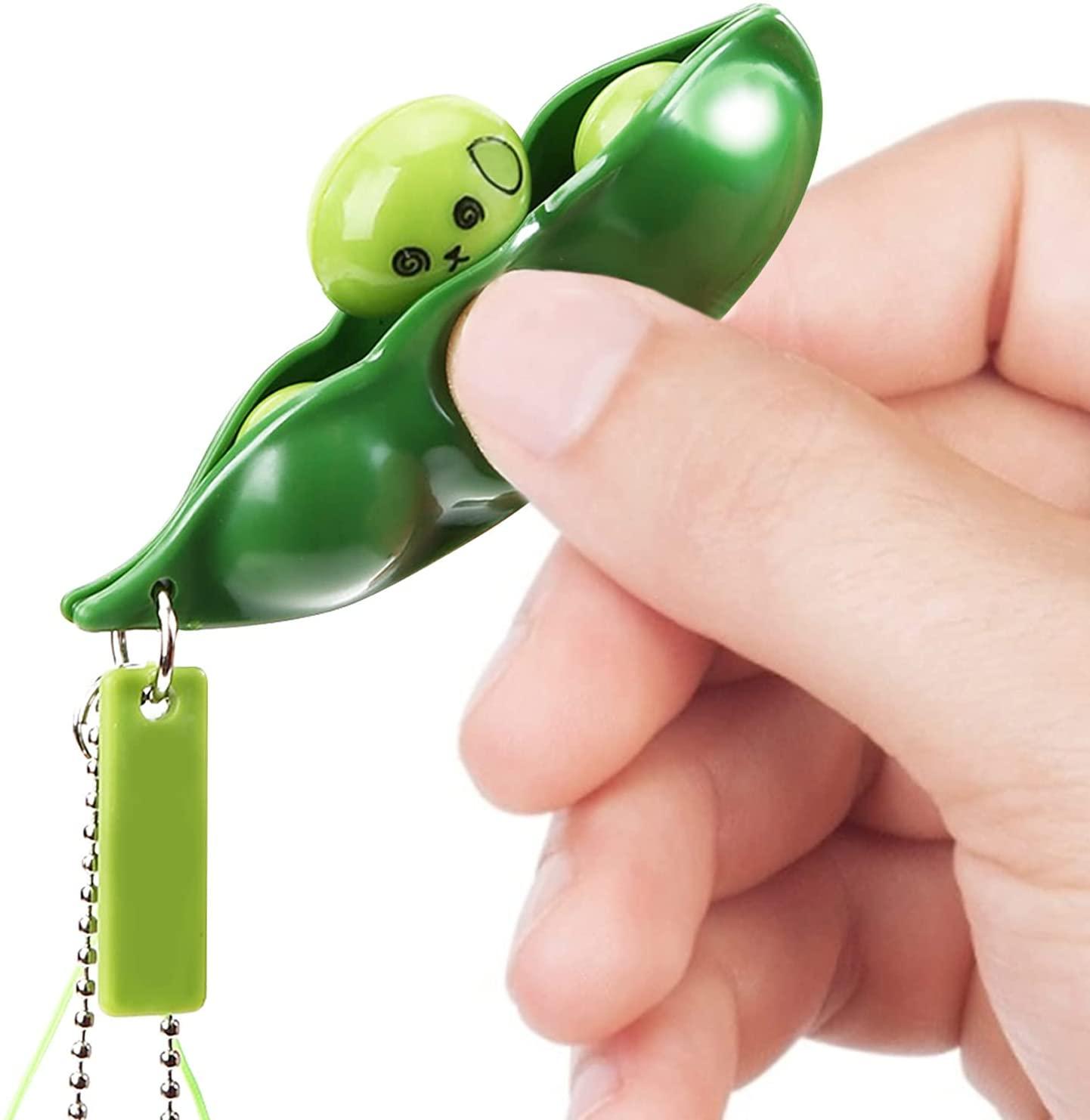 fidget-toy-gifts-edamame-keychain
