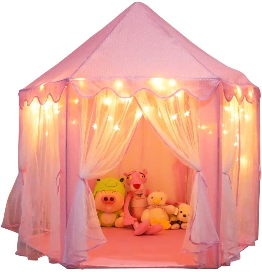 gifts-for-4-year-old-girls-castle-playhouse-tent