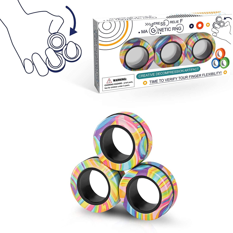 fidget-toy-gifts-magnetic-fidget-rings