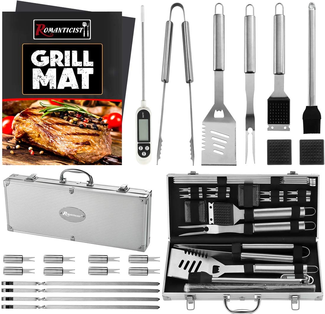 gifts-for-dad-from-daughter-stainless-steel-bbq-set