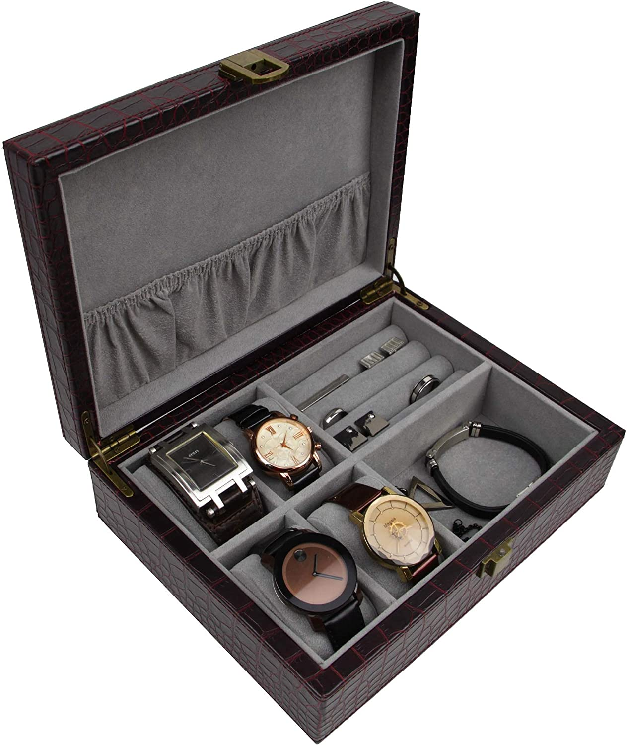 gifts-for-dad-from-daughter-leather-watch-box