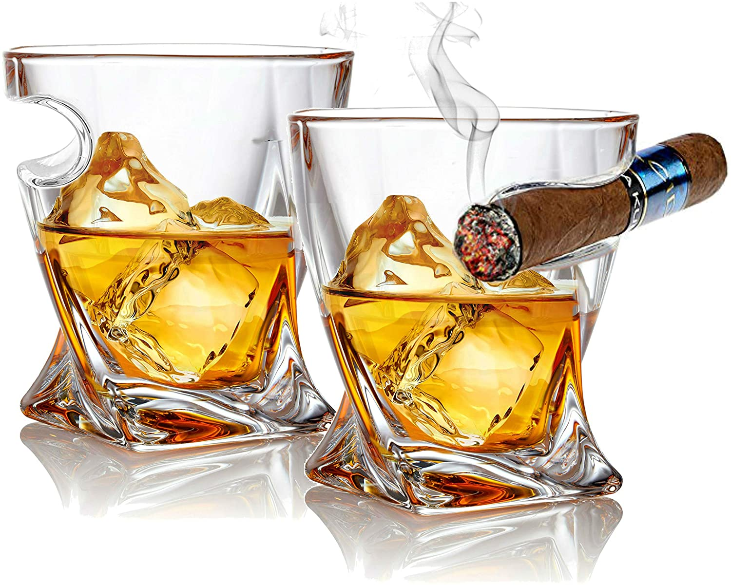 gifts-for-dad-from-daughter-whiskey-glass-with-cigar-rest