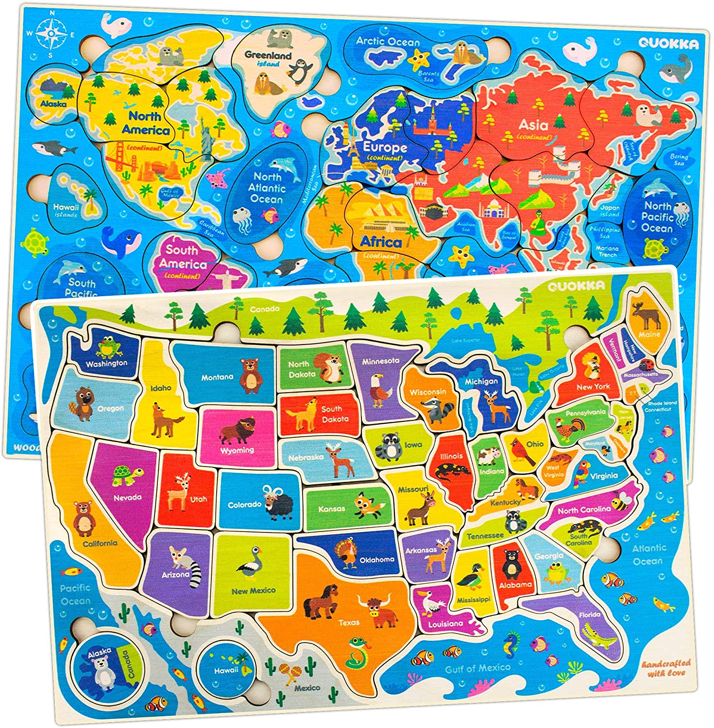 gifts-for-4-year-old-girls-world-map-puzzle