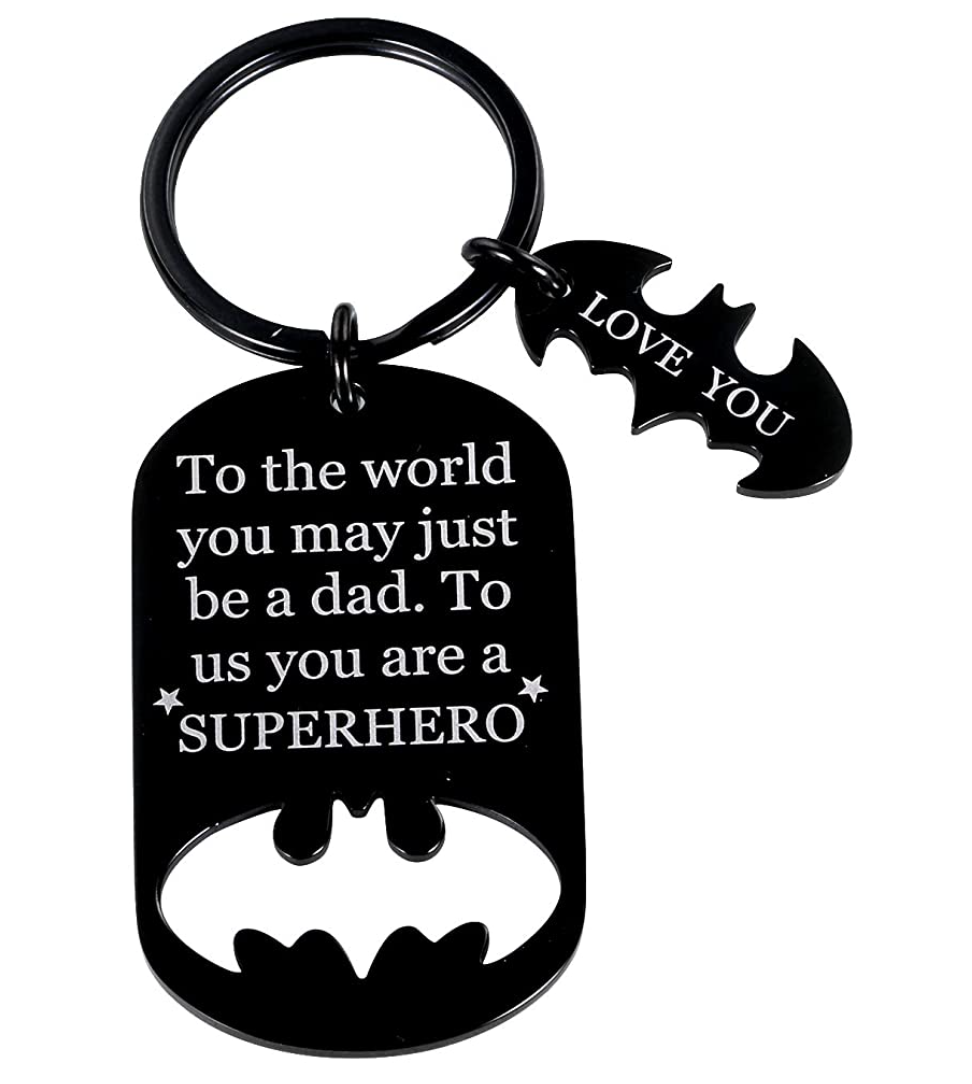 gifts-for-dad-from-daughter-superhero-keychain
