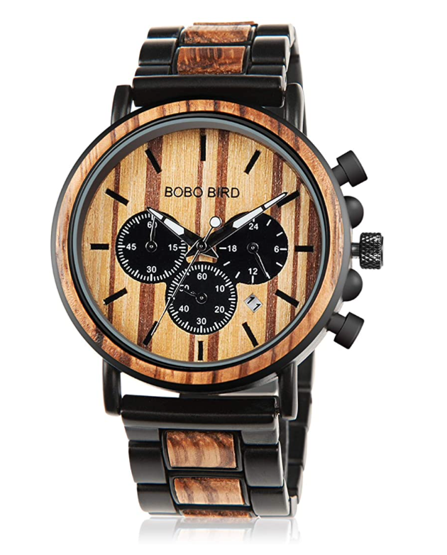 gifts-for-dad-from-daughter-wooden-watch