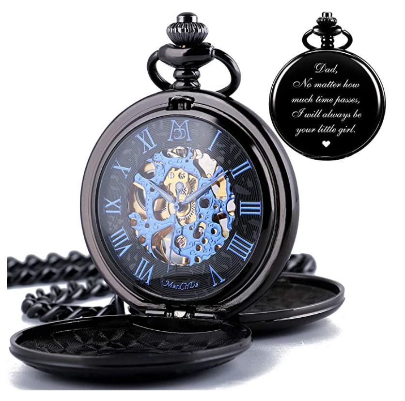gifts-for-dad-from-daughter-engraved-pocket-watch