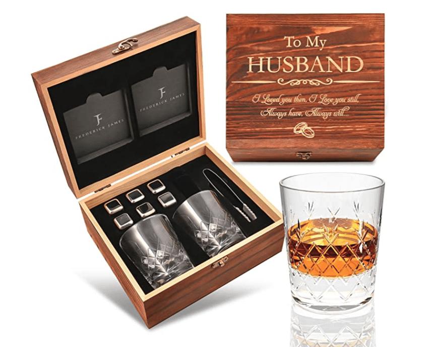anniversary-gifts-whiskey-glass-set